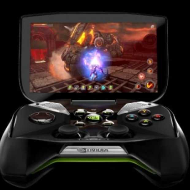 Nvidia introduceert draagbare spelconsole 'Project Shield' op Android
