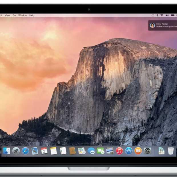 OS X 10.10 Yosemite beschikbaar