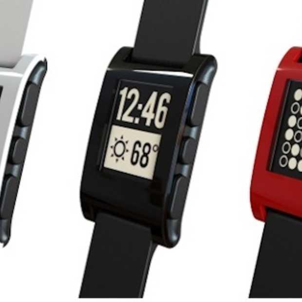 Pebble smartwatch voor iOS en Android