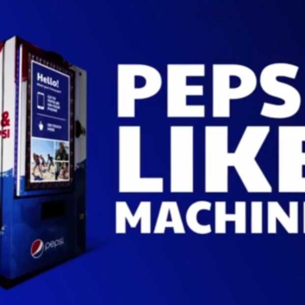 Pepsi 'Like machine' van TBWA België: een automaat die enkel Facebook likes accepteert