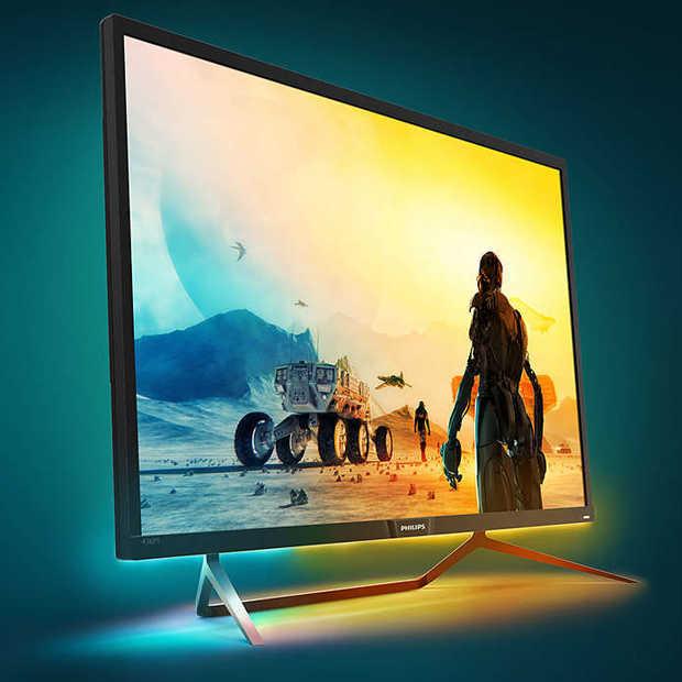 Dit 43 inch scherm van Philips is ideaal voor console gaming