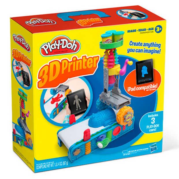 Play-Doh 3D printer: het beste van 1 april