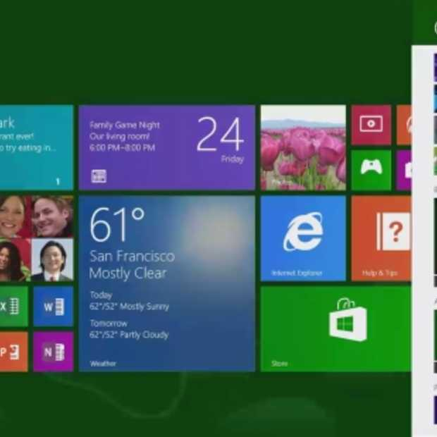 Proefversie Windows 8.1 nu beschikbaar: hier zijn enkele updates