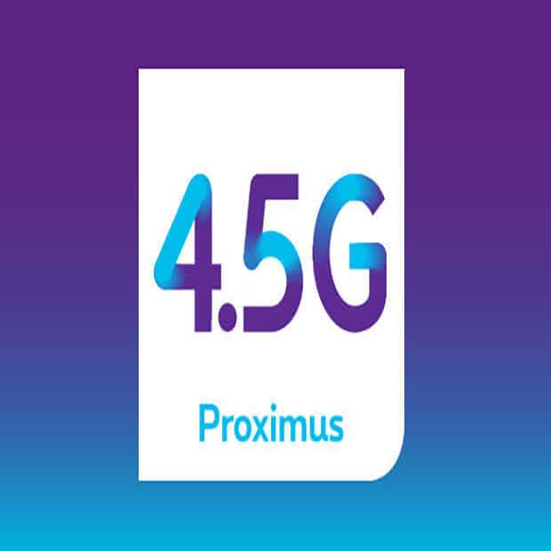 Proximus lanceert als eerste 4.5G in België