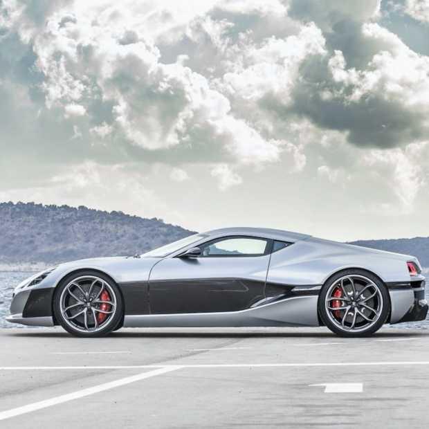 Rimac Concept_One, EV sneller en mooier dan een Tesla