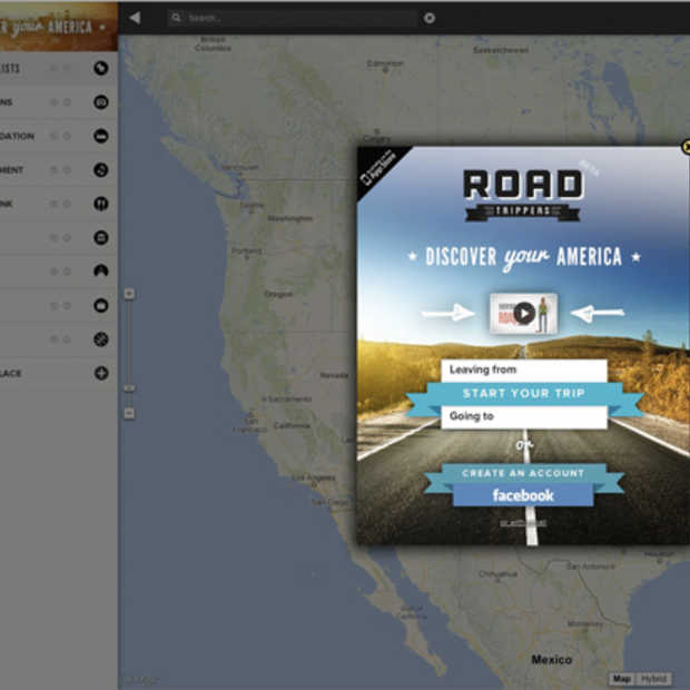 Roadtrippers, plan je reis door de USA online