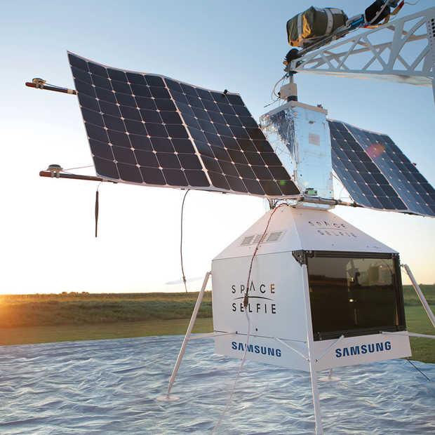 Samsung gaat op SpaceSelfie-missie