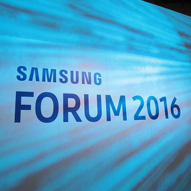 Samsung Forum 2016: Wasmachines, Koelkasten en Robotstofzuigers