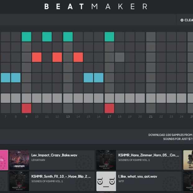 Splice Beatmaker: Casual muziek maken vanuit je browser