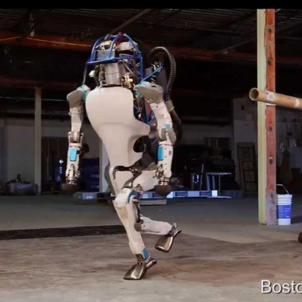 Video: De robot van de toekomst is bestand tegen pesterijen