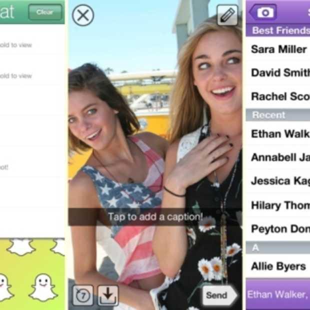Snapchat haalt bijna 100 miljoen dollar op na investeringsronde