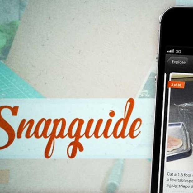 Snapguide: je handige hulplijn voor vanalles en nog wat