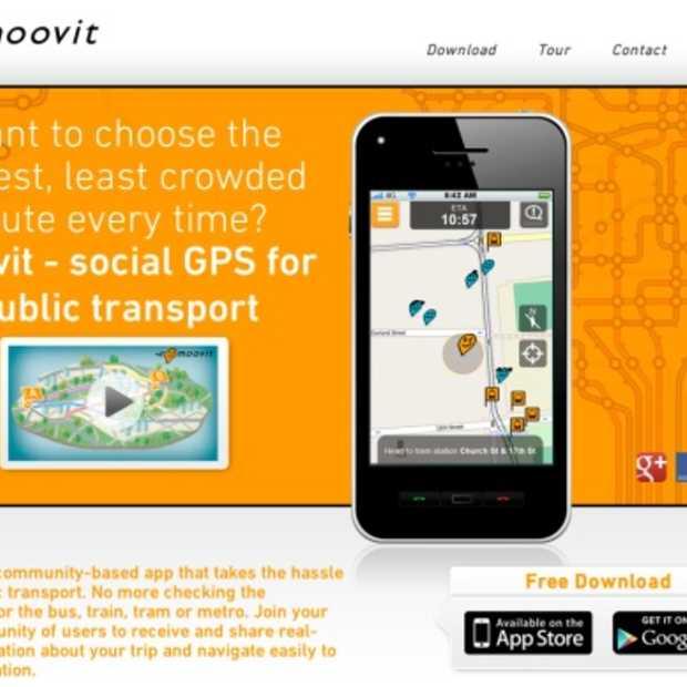 Social GPS voor het openbaar vervoer