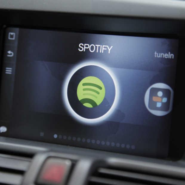 Spotify nu beschikbaar in Volvo's in-car entertainment systeem