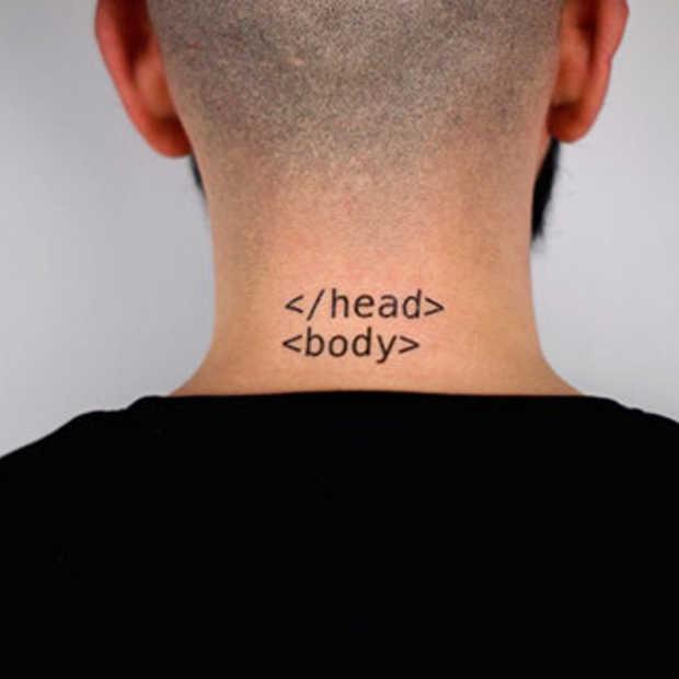 Tattonomy. Tijdelijke tattoos voor geeks