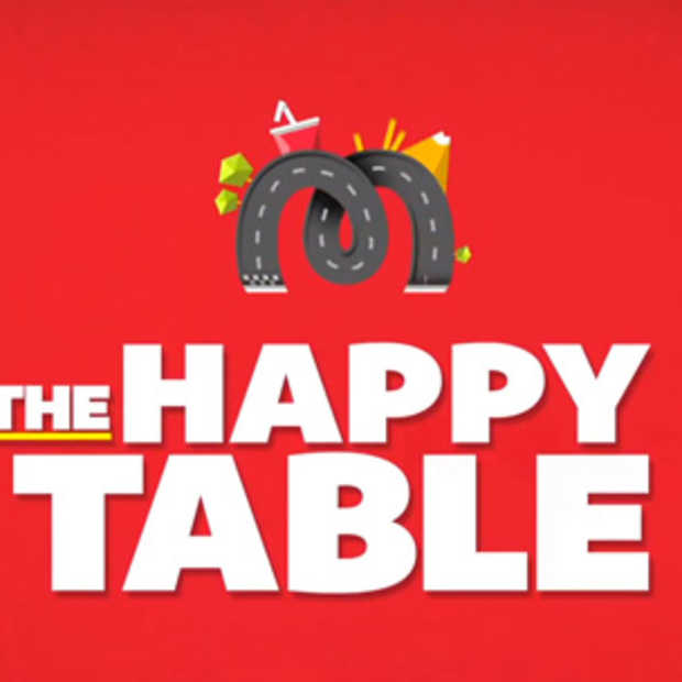 The Happy Table, het McDo ballenbad anno 2014.