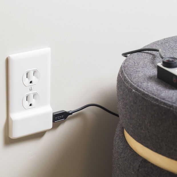 Met SnapPower verander je een stopcontact in een usb lader