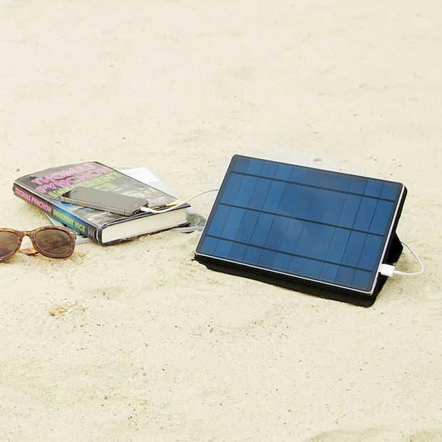 Solartab is de ideale batterij voor zonnekloppers