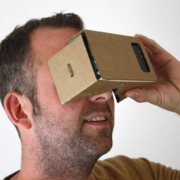 RT actie: maak kans op een Google Cardboard VR bril