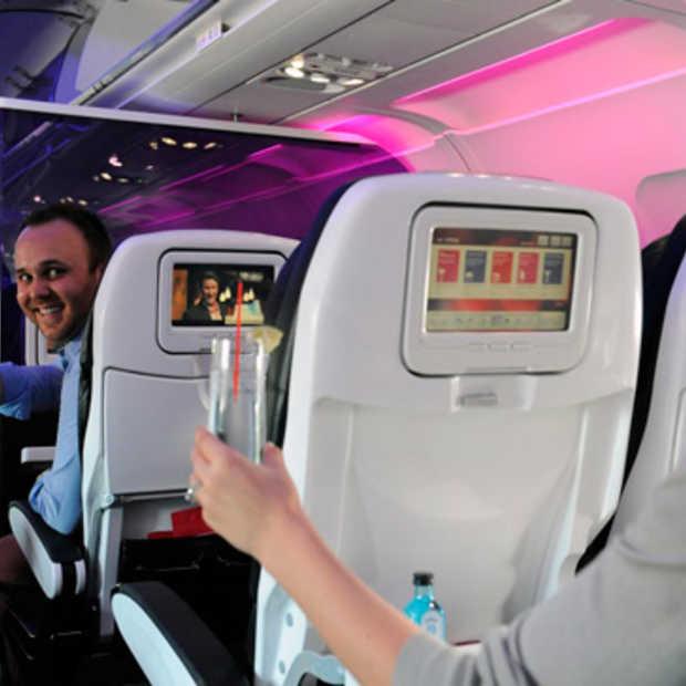 Trakteer eens een medepassagier op het vliegtuig, nieuw bij Virgin America