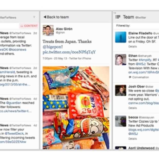 TweetDeck krijgt volledig nieuwe look & grondige update