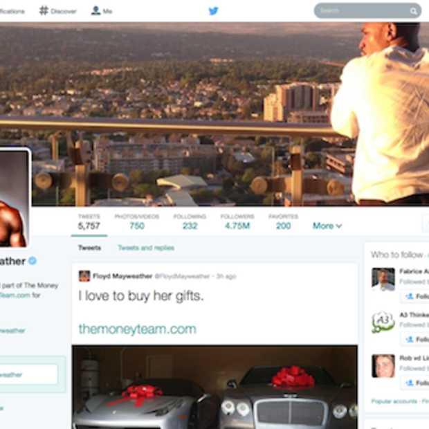 Twitter profiel pagina wordt visueler