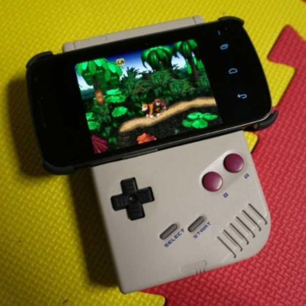 Verander je oude Game Boy in een gamepad voor je smartphone