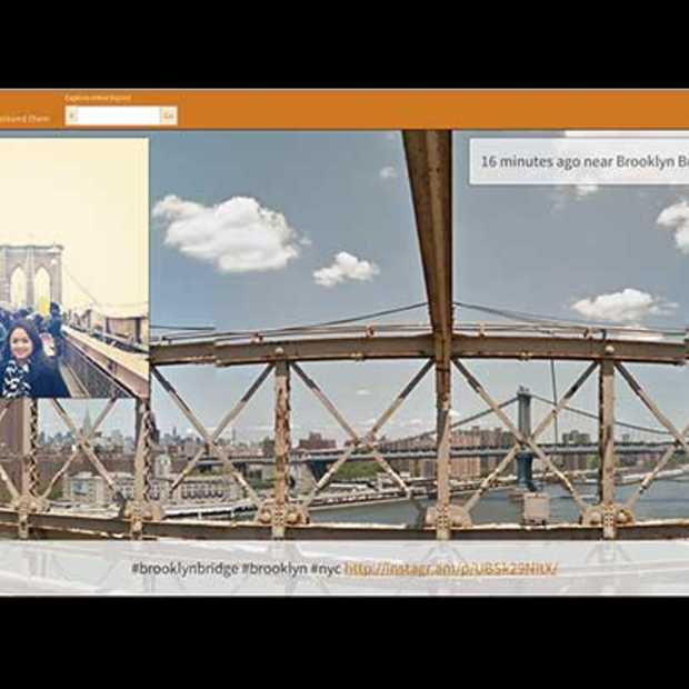 Verken de wereld aan de hand van een Instagram & Google Maps mashup