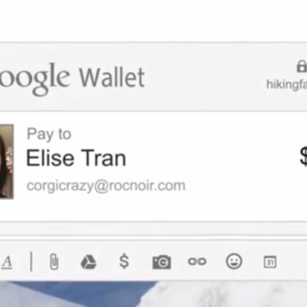 Verstuur geld naar je vrienden met Gmail en Google Wallet