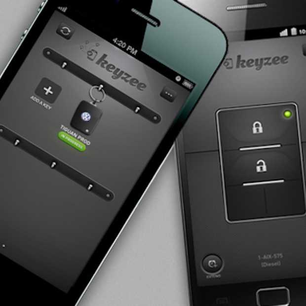 Virtuele autosleutel Keyzee maakt auto delen mogelijk