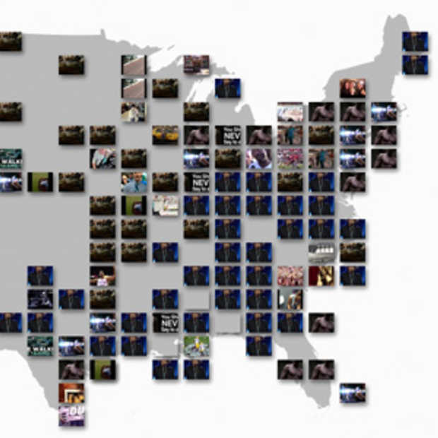Youtube Trends Map toont populairste online video's in realtime